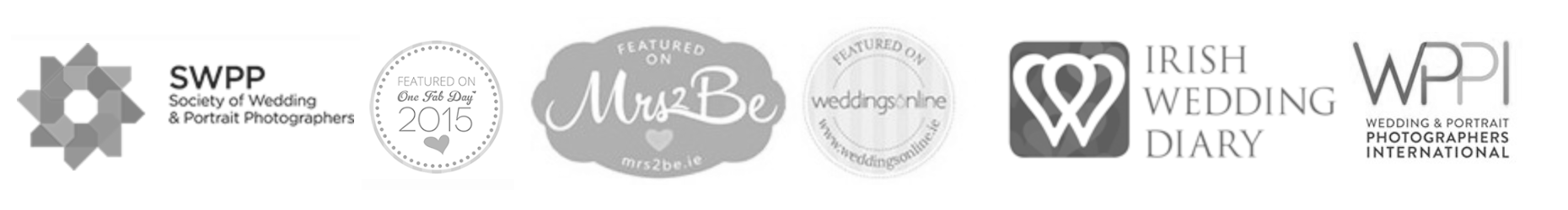 affliations - award-winning irish wedding photographers