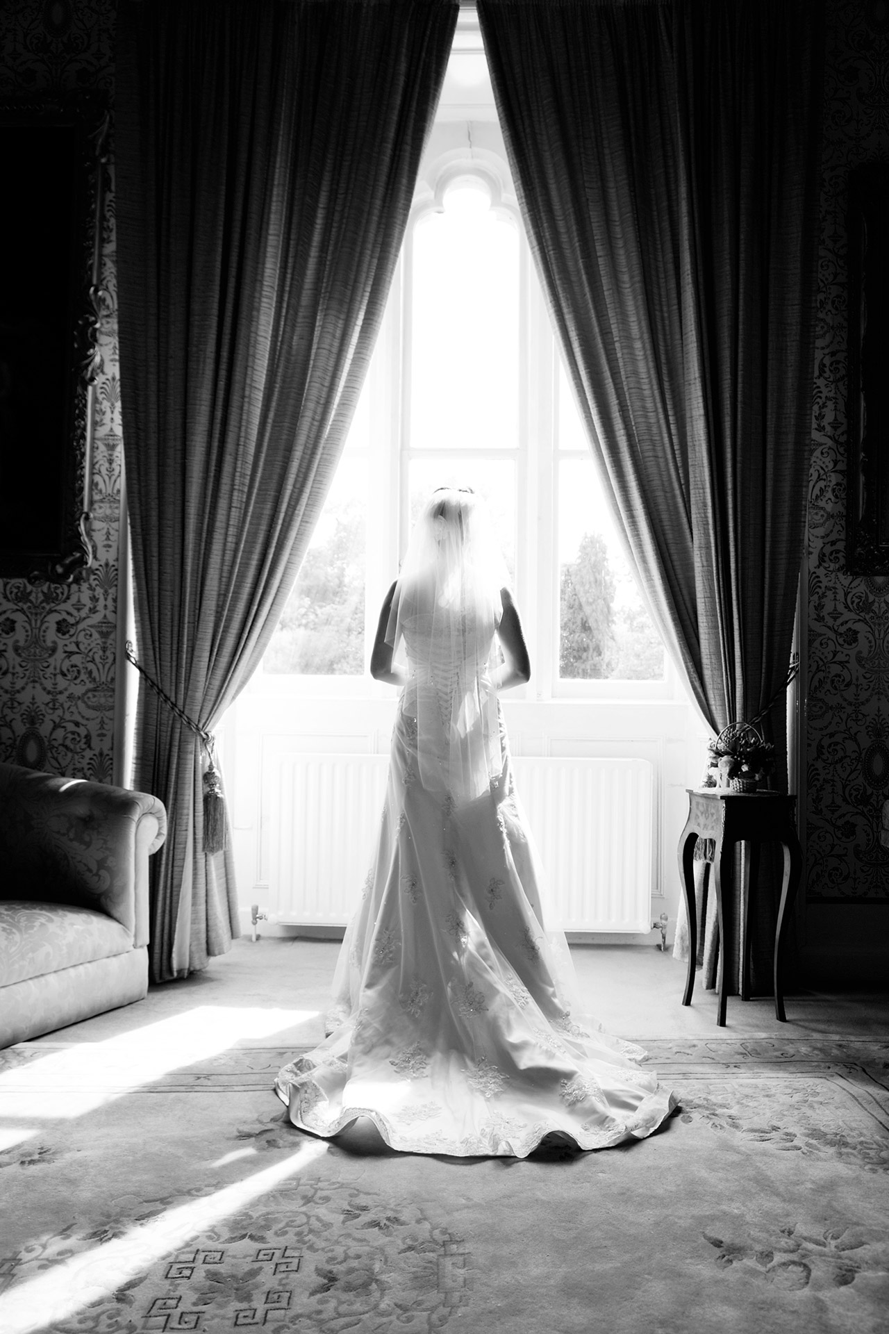 wedding photos Cabra castle