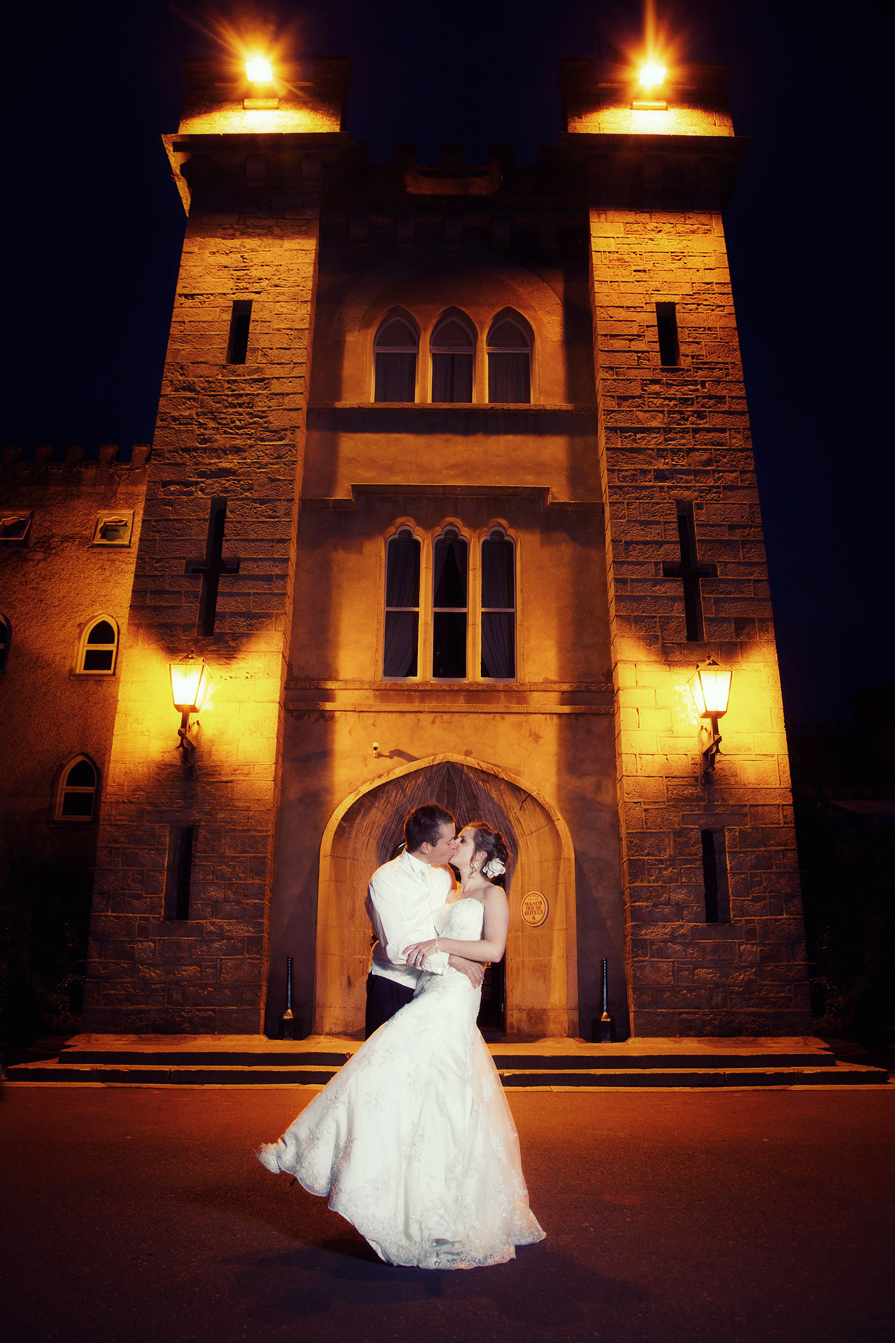 Wedding photography Cabra Castle