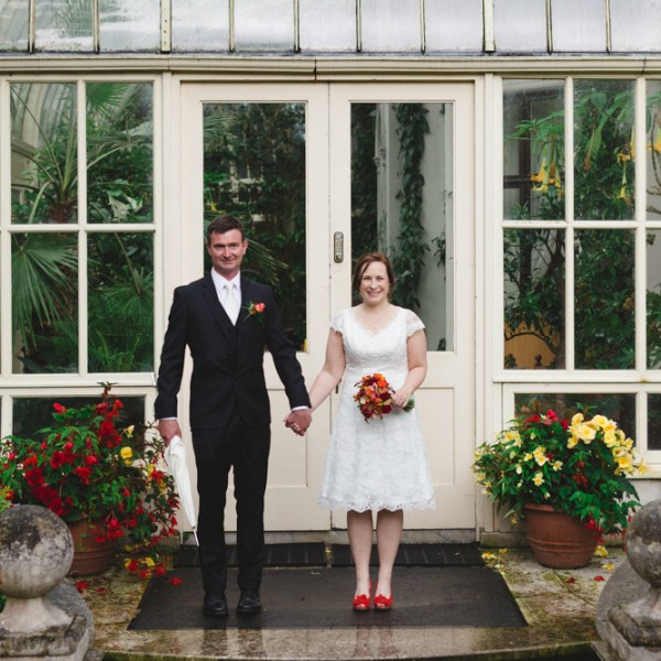 Kati + John | Anglers Rest Dublin | Dublin wedding photographer