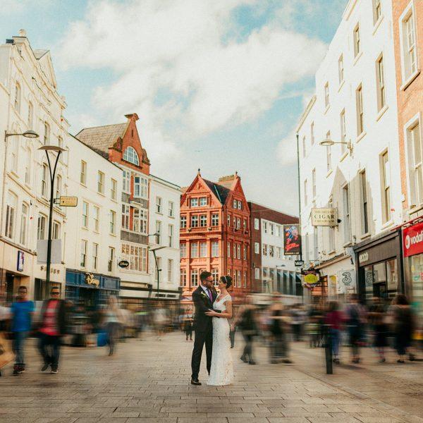 Dublin city wedding at Fallon & Byrne | Lisa & Tiernan | Sneak Peek