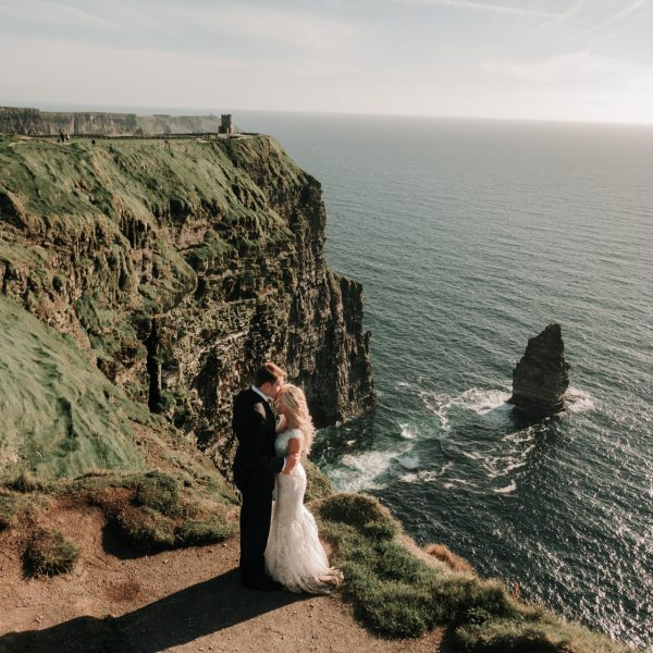 A wedding at the Cliffs of Moher  | Megan & Jake