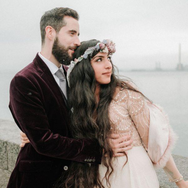 Martello tower howth wedding | Alexandra & Alessandro part 1