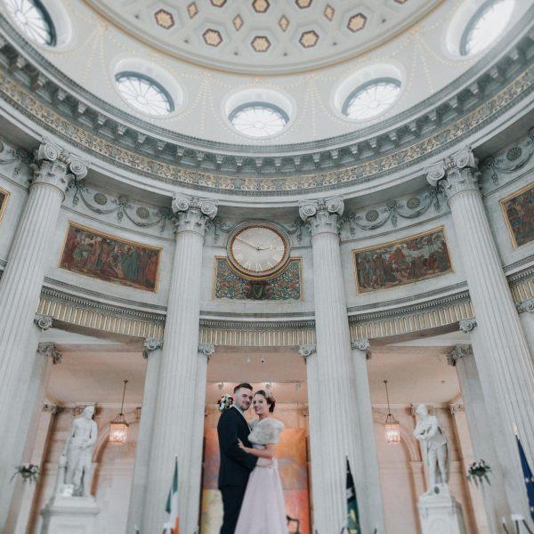 dublin city hall wedding - Rebecca & Craig